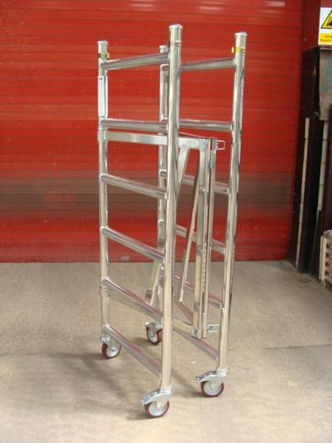 Abru Mini Fold Access Tower 50012 Aladder Co Uk