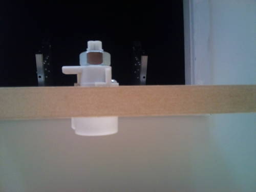 aladder complete loft hatch door catch latch twist for. Black Bedroom Furniture Sets. Home Design Ideas
