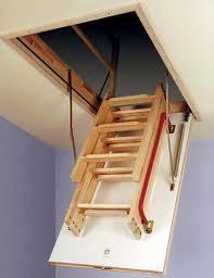 Fakro Wooden Folding Loft Ladder Lwk Komfort 3 Section 280cm 1