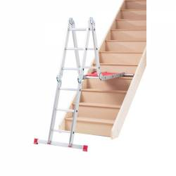 Werner Abru 12 Way Multi Purpose Combination Ladder and Platform 75012 Model