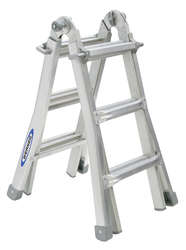 Werner Multi Purpose Telescopic Combination Ladder MT Series 12 4X3 2.88m 75053