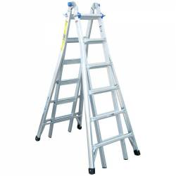 Werner Multi Purpose Telescopic Combination Ladder MT Series 26 4X6 5.79m 75056